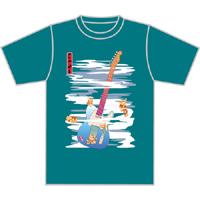 ニシナガレ・テレキャス和風Tシャツ
